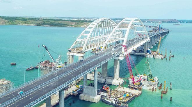 Британия ввела санкции против российских компаний, строивших мост в Крым