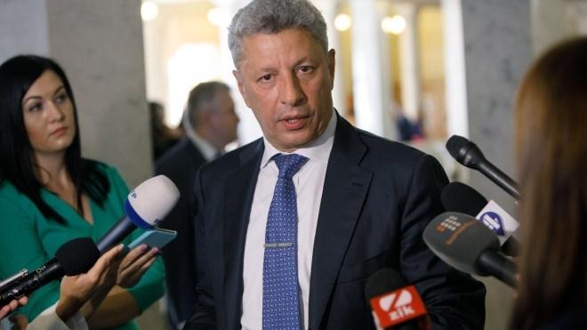 Нардеп Бойко заявил о создании новой депутатской группы в Верховной Раде