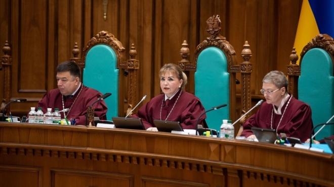 Конституційний суд поновлює роботу. Він не збирався на засідання майже місяць