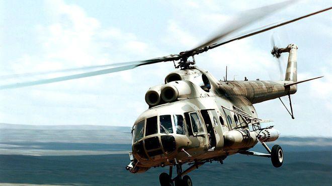 В России разбился вертолет. Погибли 18 человек