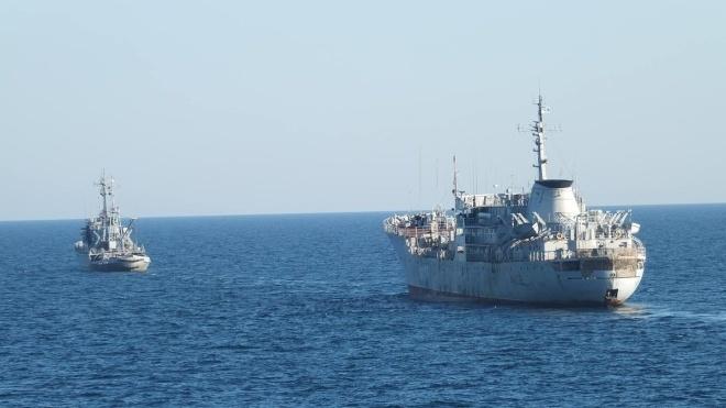 Командующий ВМС заявил о подготовке к полномасштабному военному столкновению с РФ. В Кремле считают это «глупостью»