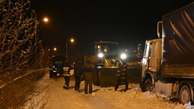 Дороги в Полтавській області розчистили від снігу. Рух на трасах до Києва розблоковано