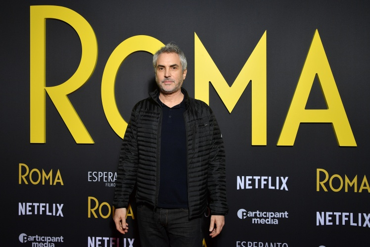 Режисер фільму «Рома» Альфонсо Куарон.