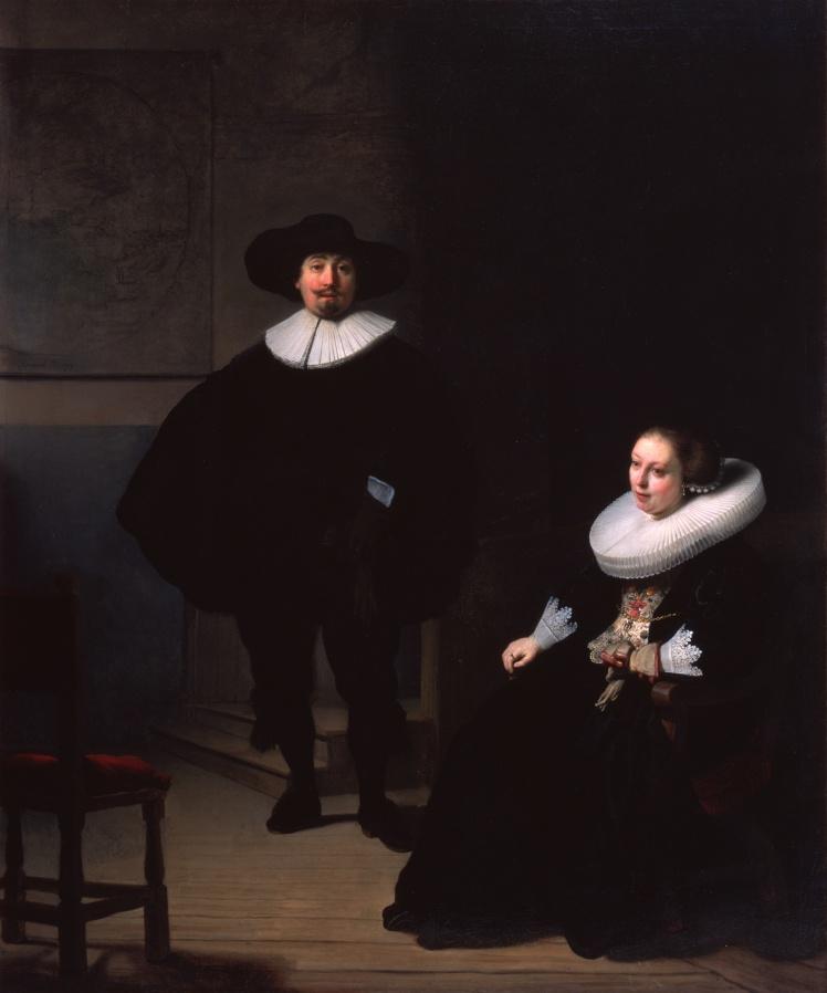 Рембрандт, «Леди и джентльмен в черном».