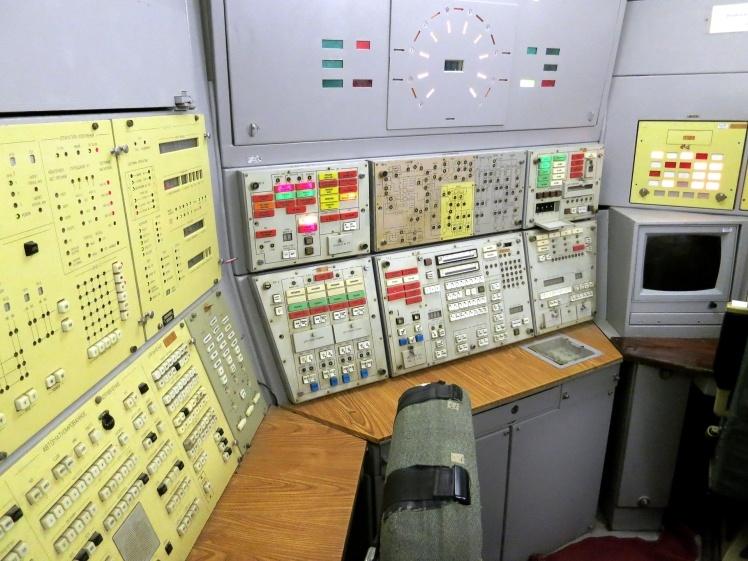 Оборудование подземного унифицированного командного пункта. Музей Ракетных войск стратегического назначения в Украине.
