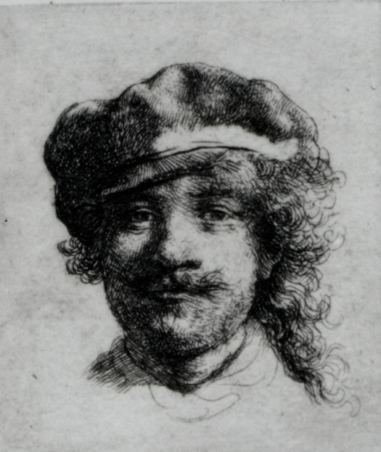 Рембрандт, «Автопортрет».