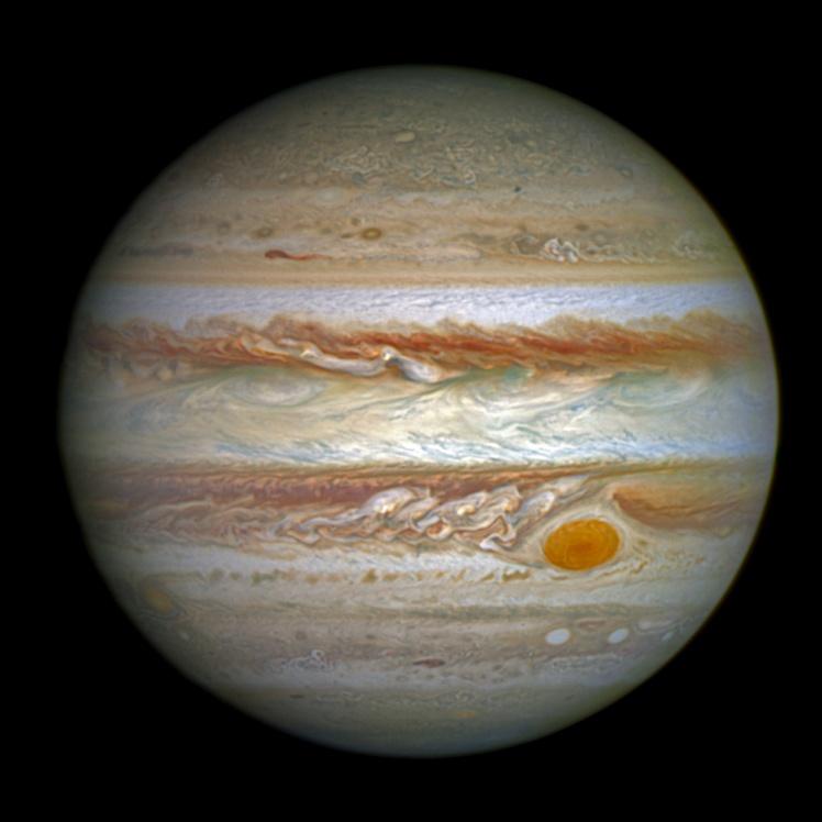 Снимок Юпитера 2016 года.