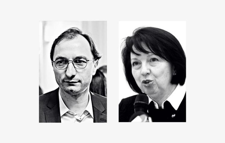Андрій Безносенко та Олена Колеснік.