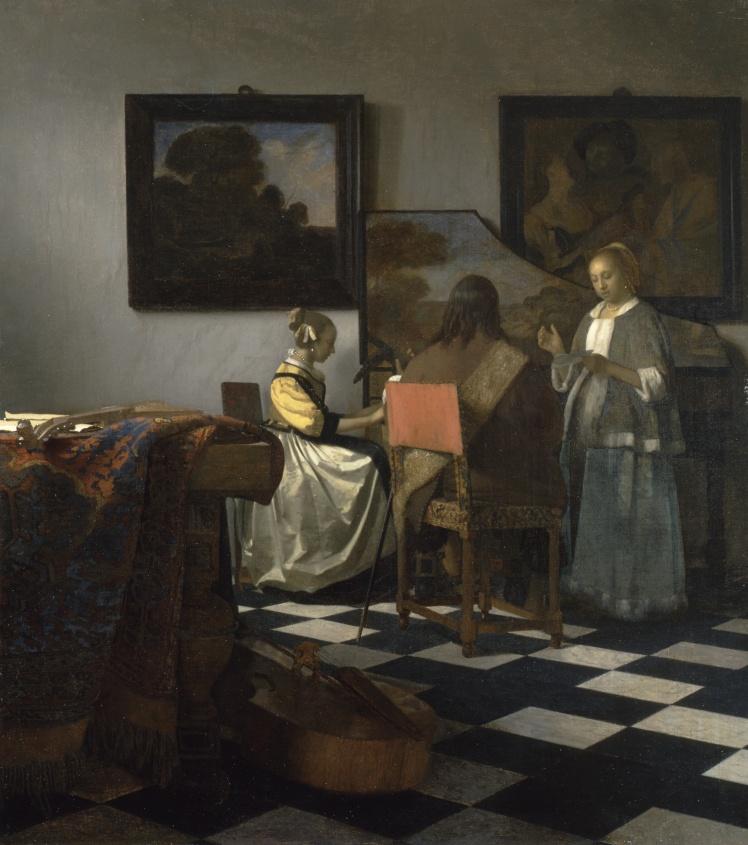 Ян Вермеер, «Концерт». Считается самой ценной из похищенных картин, оценивается примерно в 250 миллионов долларов.