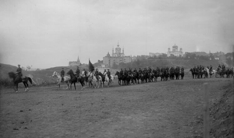 Тактичні заняття київської міліції, 1925 рік.