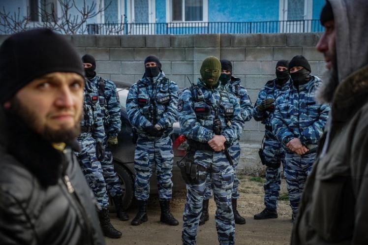 <p>Заседание «Крымской солидарности». Старый Крым. 27 января 2018.</p>