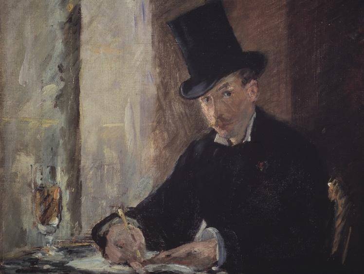 Эдуард Мане, «У Тортони». С пропажей этой картины связана одна из главных загадок расследования.