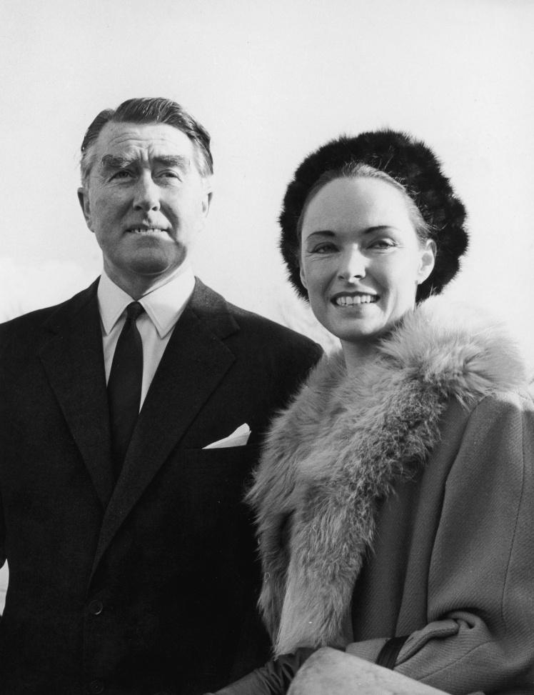 Принц Сіленду Рой Бейтс із дружиною Джоан.