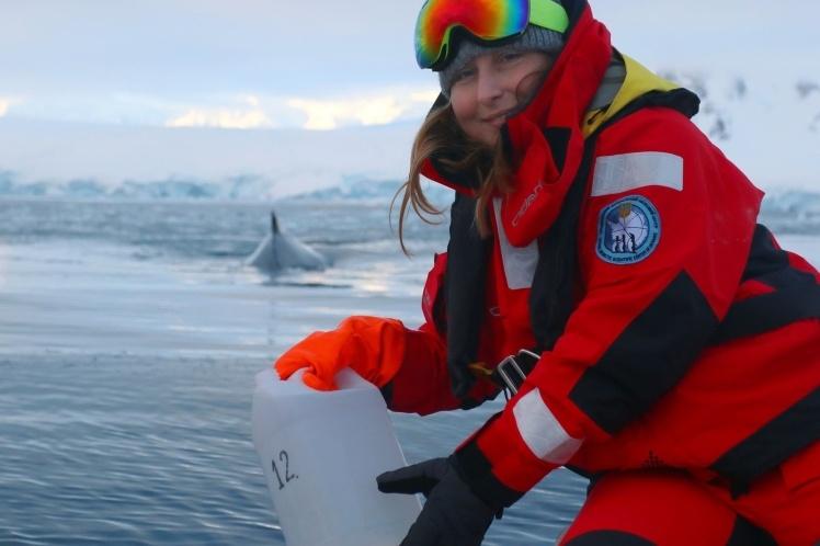 Оксана стала первой украинской ученой с 1997 года, которая поехала на зимовку в Антарктиду