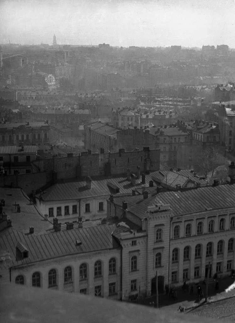 Вид центральної частини Києва, 1920—1928 роки.
