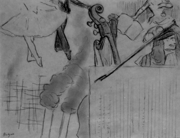 Эдгар Дега, «Программа для художественного вечера 2».