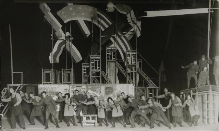 Вистава «Джіммі Гіґґінз», театр «Березіль», 1923 рік.