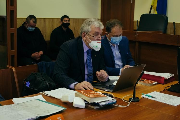 Адвокат обвинуваченого Приходька Віктор Чевгуз