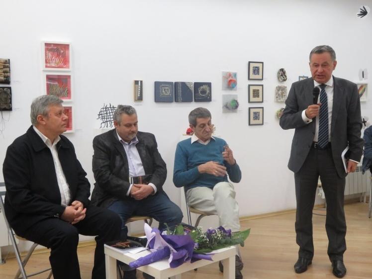 <p>Презентація книги Светослава Нахума «Втеча з Криму» у Софії, Болгарія.</p>