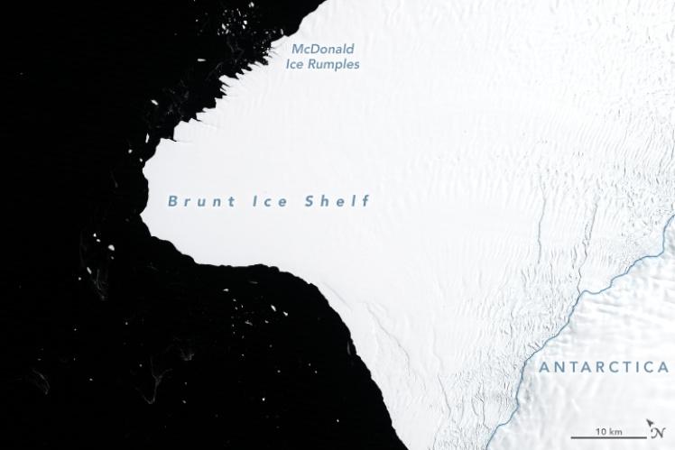Льодовик Бранта, 30 січня 1986 року