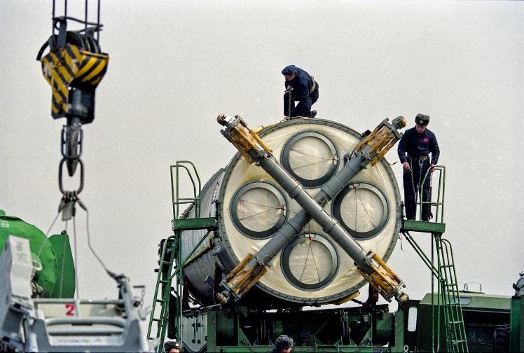 46-а ракетна дивізія 43-ї ракетної армії (Ракетні війська стратегічного призначення ЗС СРСР). Первомайськ, Миколаївська область, березень 1994 року.