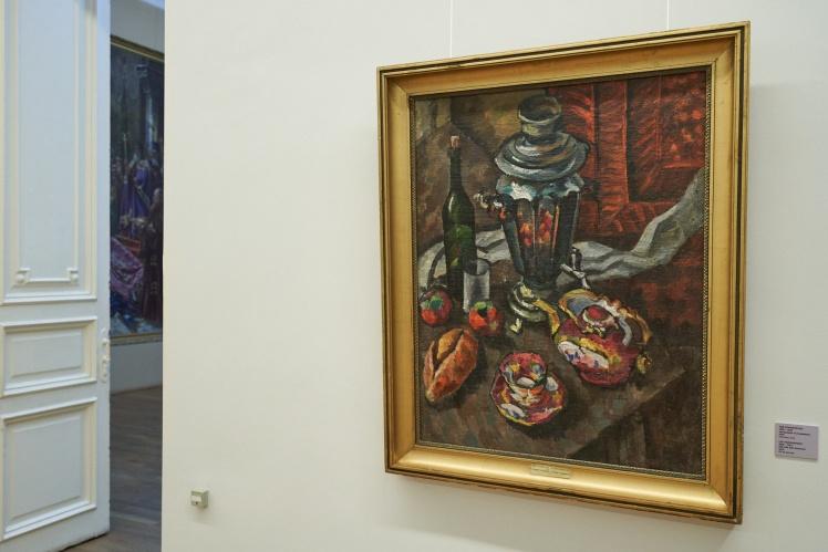 Лев Крамаренко, «Натюрморт із самоваром».