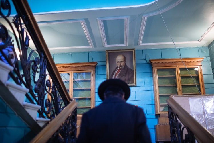 Хол київського Будинку письменників.