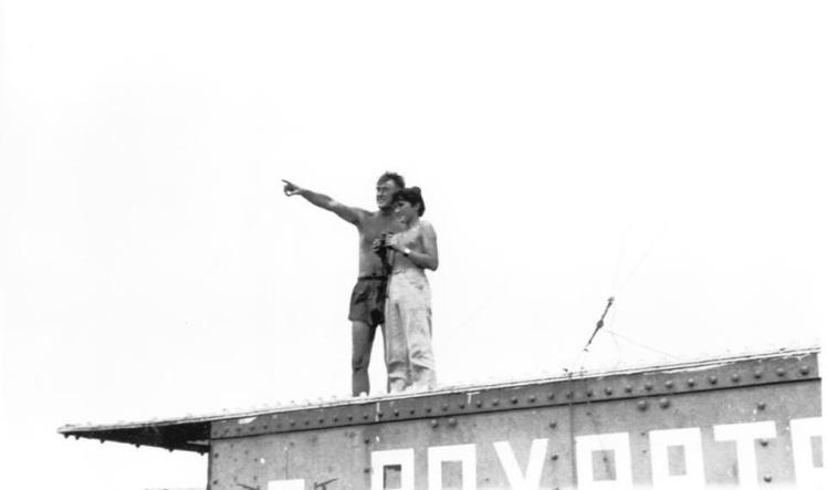 Засновник Сіленду Рой Бейтс разом із сином Майклом, 1976 рік.