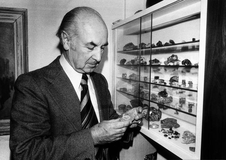 «Отец» ЛСД Альберт Хофман, 1976 год.