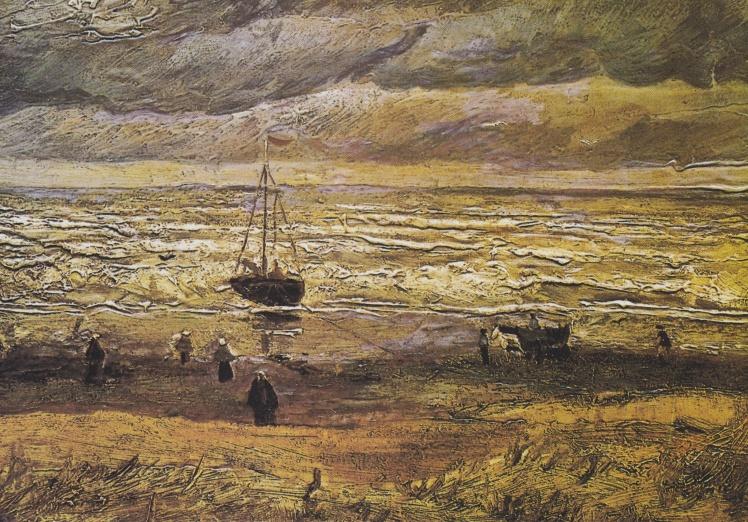«Вид на море у Схевенингена», Винсент Ван Гог