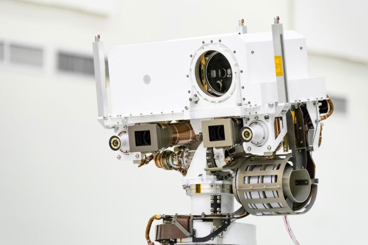 Марсохід NASA Perseverance оснащений передовими оптичними приладами.