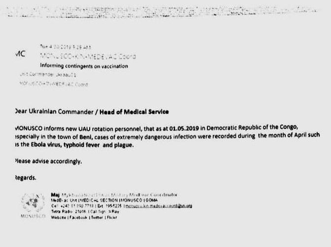<p>Письмо с предупреждением о вспышках легочной чумы, холеры и брюшного тифа.</p>