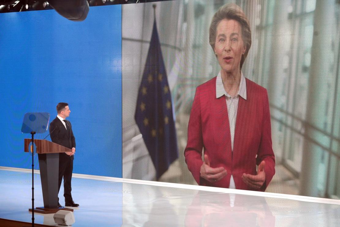 На «Украина 30» выступила президент Еврокомиссии Урсула фон дер Ляйен.