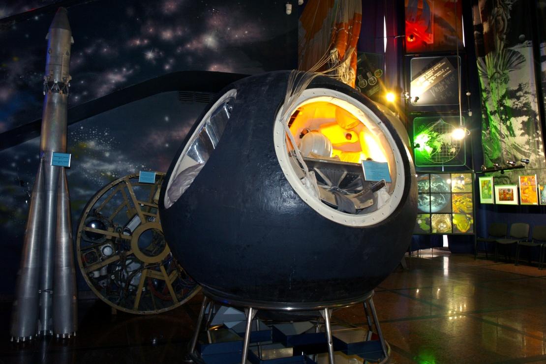 Макет спускового аппарата космічного корабля «Восток».