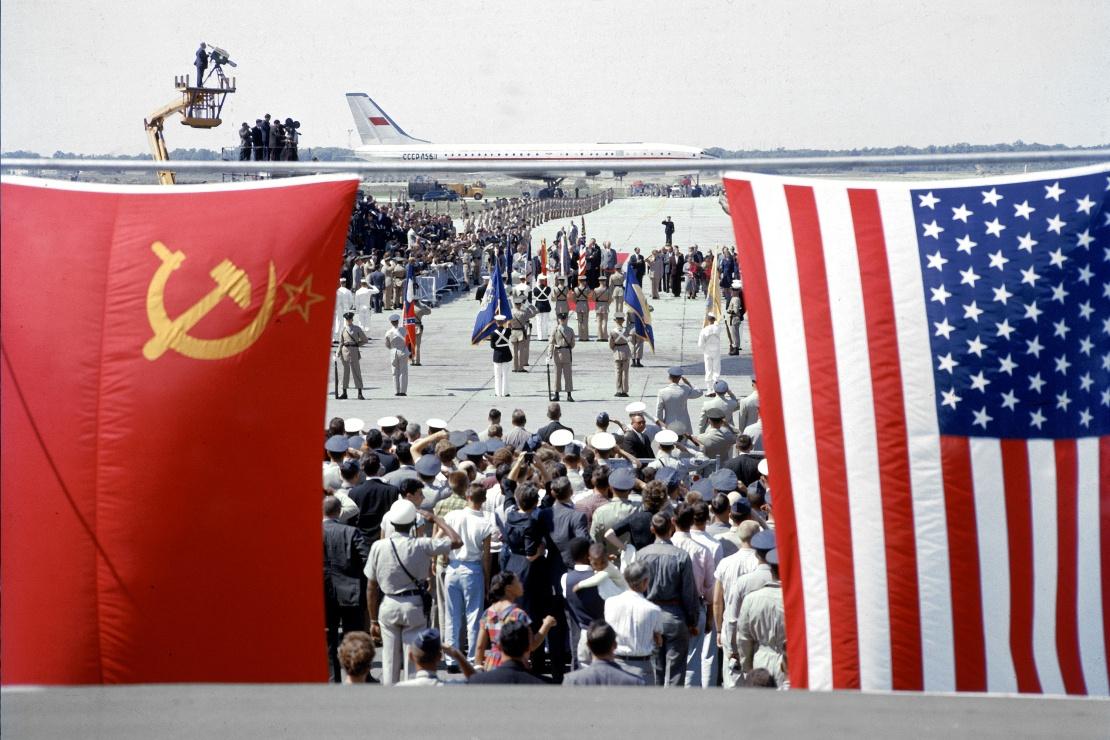 Встреча Никиты Хрущева в США, сентябрь 1959 года.
