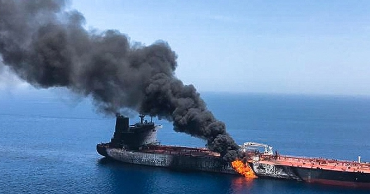 В порту Джедды атакован сингапурский танкер
