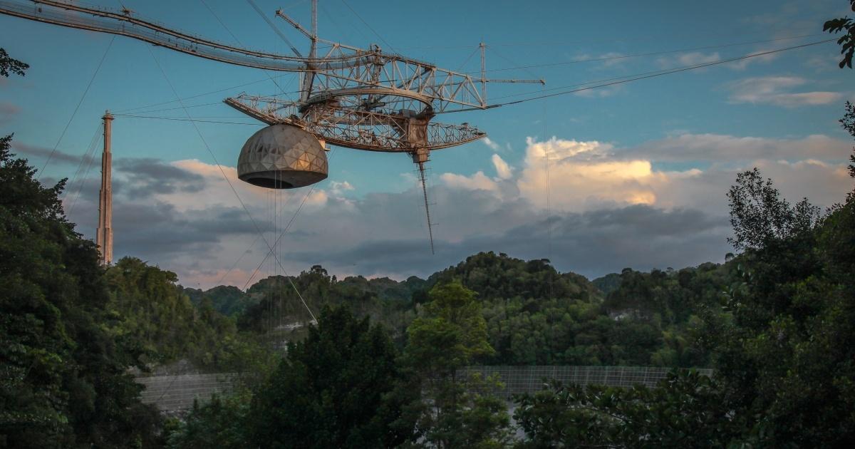 В інтернеті опублікували відео обвалу одного з найбільших радіотелескопів у світі «Аресібо»