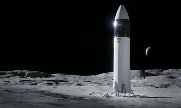 NASA выбрало компанию Илона Маска SpaceX для разработки корабля, который доставит людей на Луну