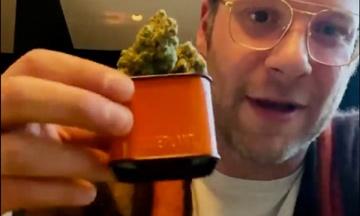 Актор Сет Роген запустив бренд марихуани. Його сайт «ліг» одразу після запуску