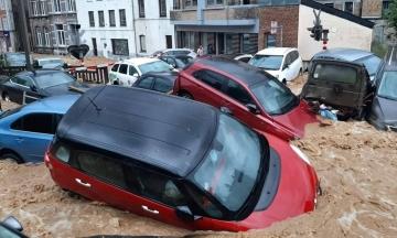 Бельгія потерпає від нових повеней. Значні руйнування у місті Дінан