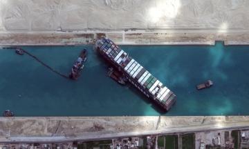 Єгипет не випустить контейнеровоз Ever Given до виплати компенсації