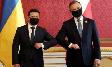 Зеленський: Президент Польщі приїде до України на День Незалежності й долучиться до «Кримської платформи»