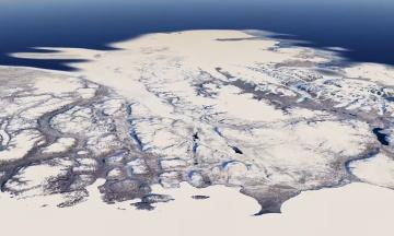 Отныне в Google Earth можно увидеть историю климатических изменений. Компания использовала для этого 24 миллиона спутниковых снимков