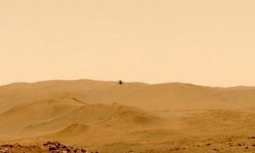 Марсіанський вертоліт Ingenuity вперше перелетів на нове місце