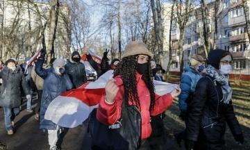 У Мінську на «Марші волі» затримали понад 300 людей