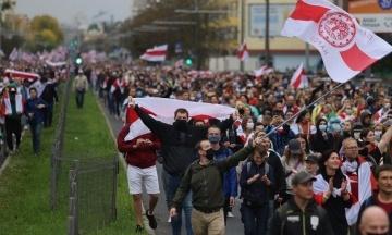 Тихановська в День волі закликала до протестів у Білорусі. На вулиці вивели силовиків