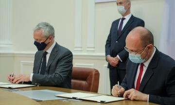 Електровози Alstom і водопостачання в Луганській області. Україна і Франція підписали чотири угоди на понад 1,3 млрд євро