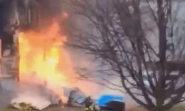 У США літак впав на житловий будинок — загинула родина