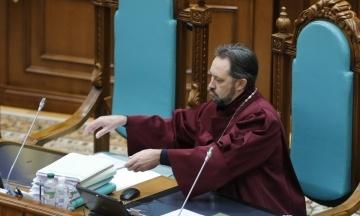 Суд виправдав суддю КСУ Сліденка у справі про конфлікт інтересів — «має імунітет»