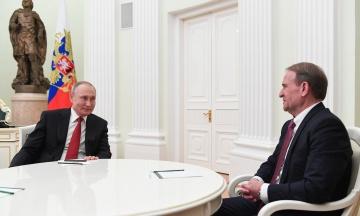 «Україну перетворюють на антипод Росії». Путін назвав справу Медведчука «зачисткою» політичного поля